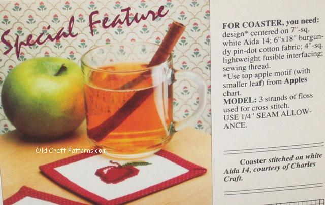 apple coaster