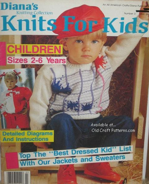 dianas knitting 3 kids patterns Kids Knitting Patterns