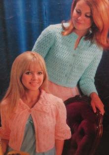 knit bedjackets