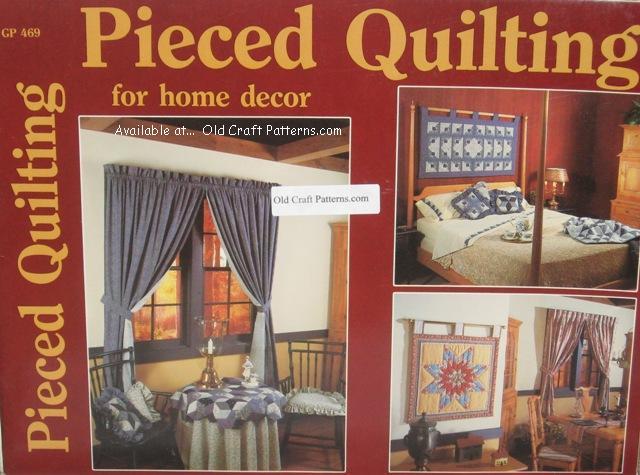 pieced quilting patterns