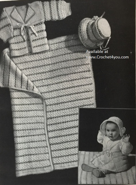 crocheted baby patterns