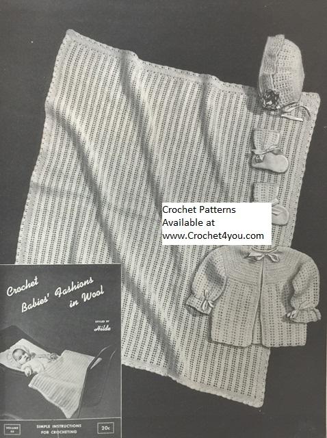 infants crochet patterns