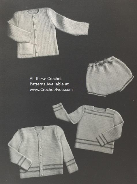 crochet babys patterns