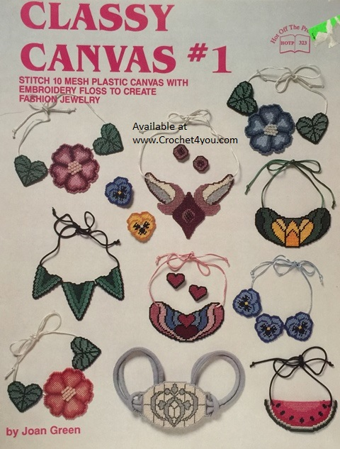 jewelry for plastic canvas