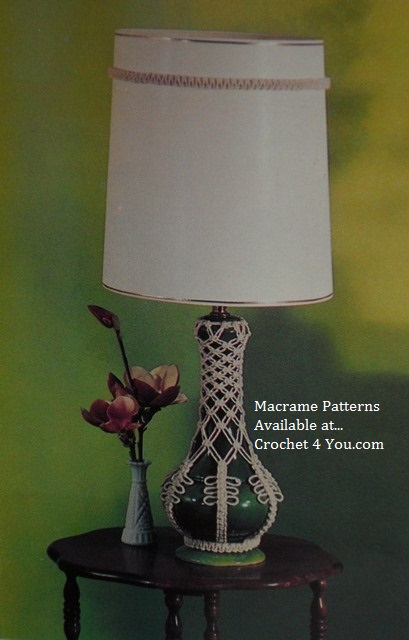 macrame for lamps