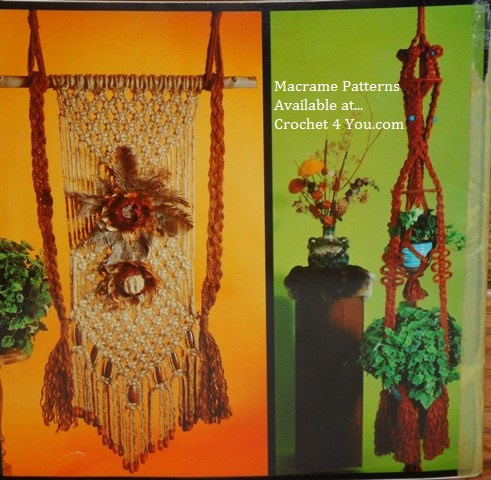 lighted macrame