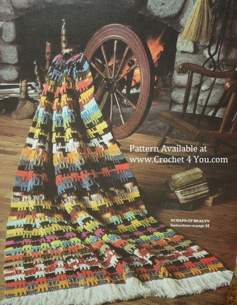 crocheted afghan pattern