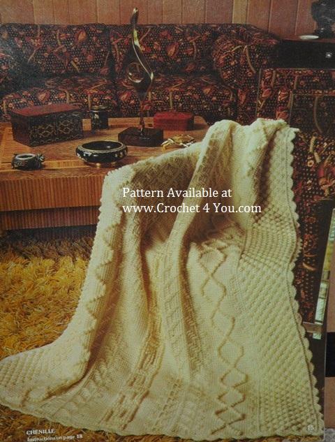 arran afghan pattern
