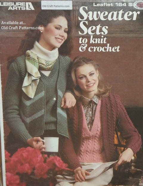 crochet sweater sets patterns