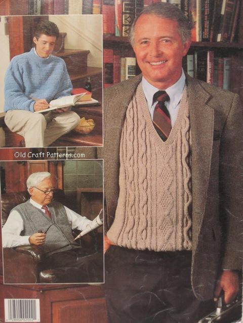 mens sweater patterns