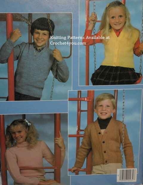knitted children sweaters