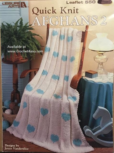 knit afghans