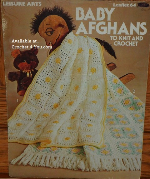 Leisure Arts Original Crochet Knitting Adult Childrens Baby Patterns