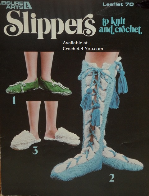 slipper patterns