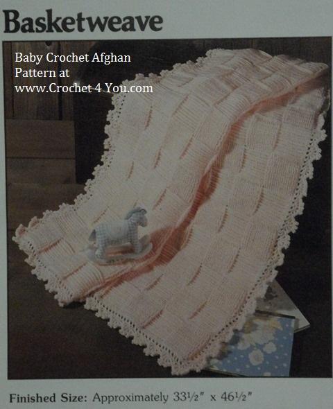 knit ripple afghan