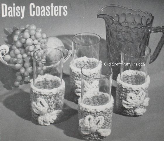 daisy coasters