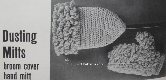 crochet mitts