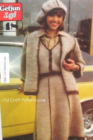suit knitting pattern