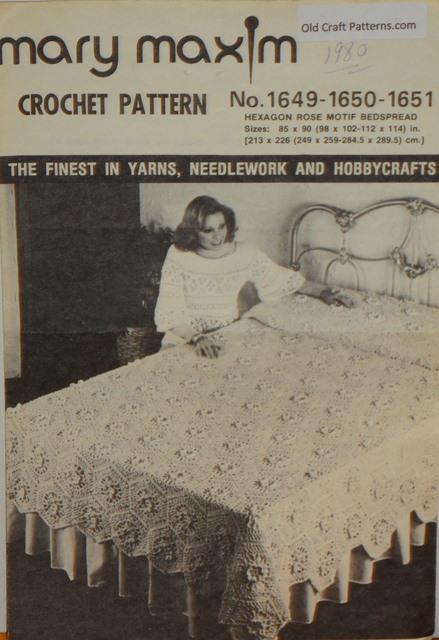 crochet rose afghan pattern