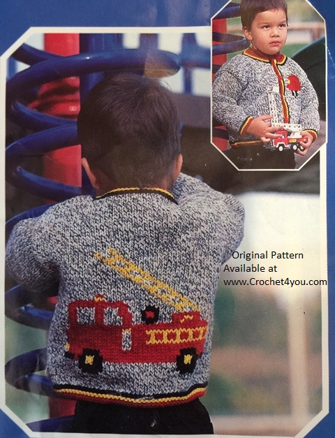 fire engine sweater