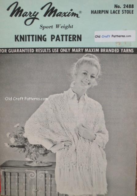 crocheted stole pattern