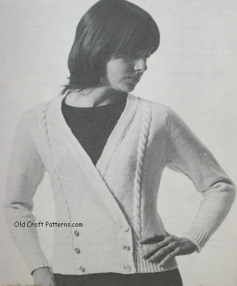 ladies sweater pattern