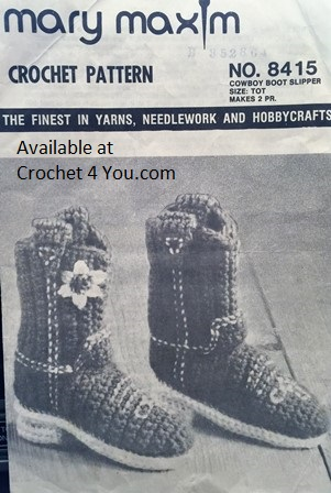 cowboy boot pattern