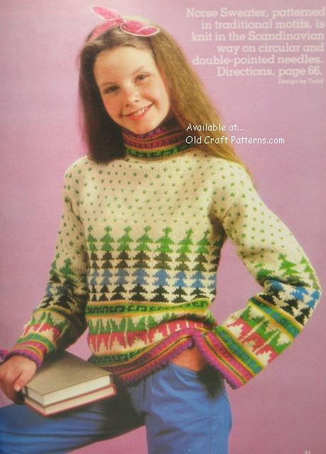 norse sweater pattern