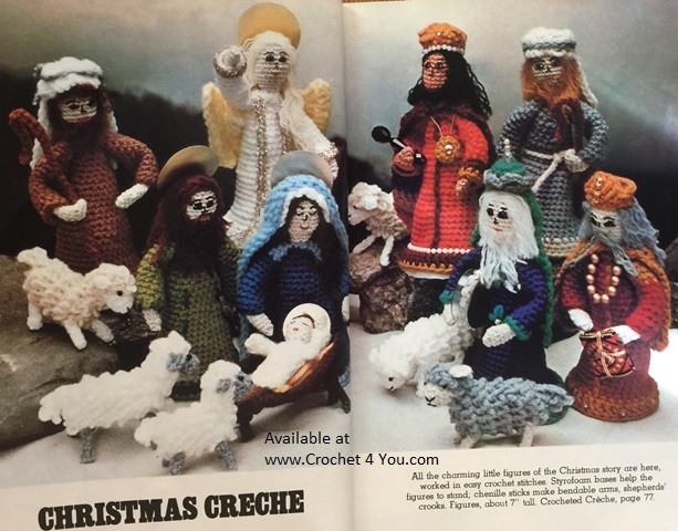 nativity crochet patterns