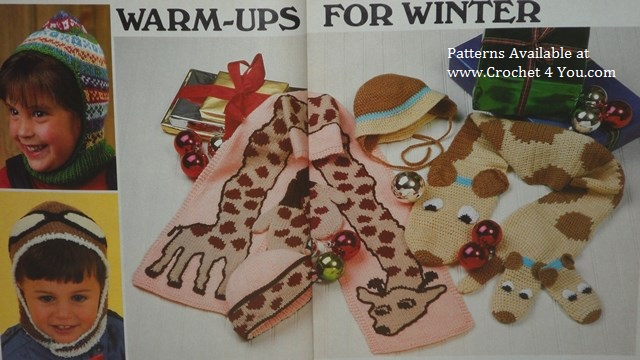 mittens scarf sets