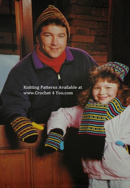 knit hat scarves