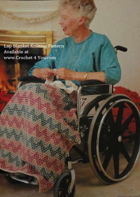 knit lap blanket