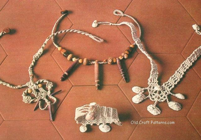 macrame jewellry patterns