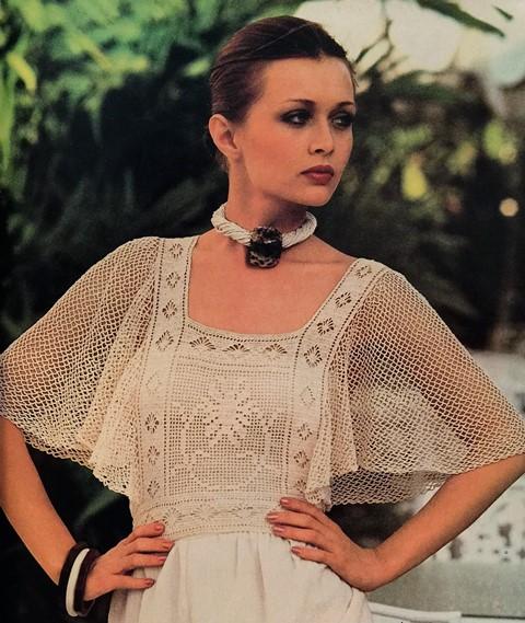 dressy crochet top pattern