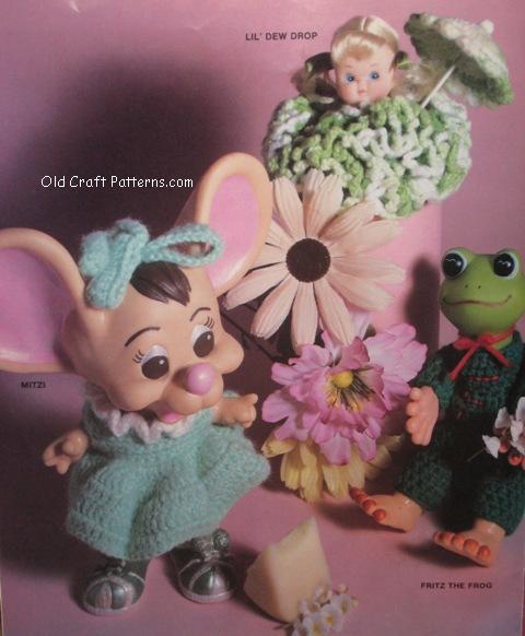 crochet cherubs