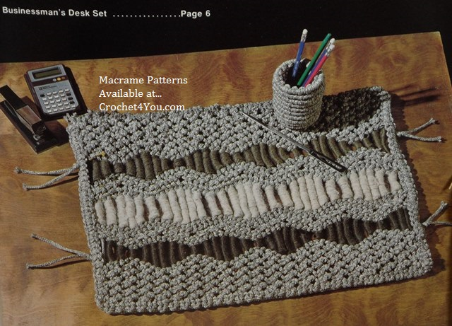 desk set patterns