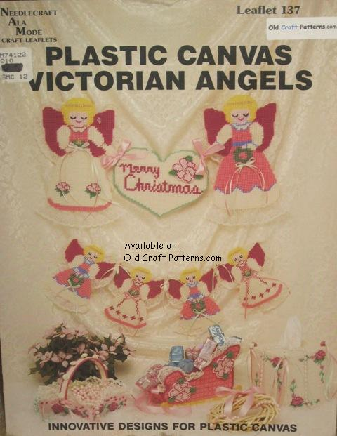 angel plastic canvas patterns