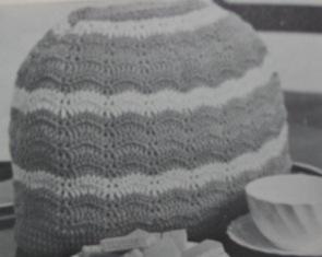 crochet baby cover
