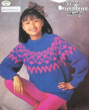 knitted fairisle