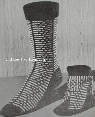 Free Knitting Patterns For Kroy Socks : patons socks by beehive book no 113 adult kroy yarn sock patterns at www.Croc...