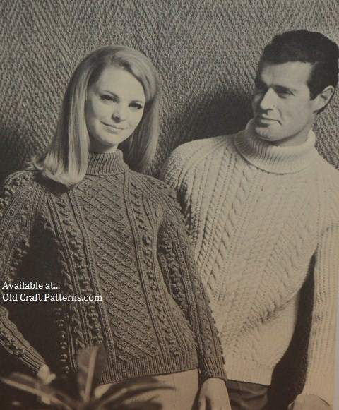 Knitting Patterns Pictures : patons 119 arran fishermans knits by beehive pattern book at www.Crochet4you.com