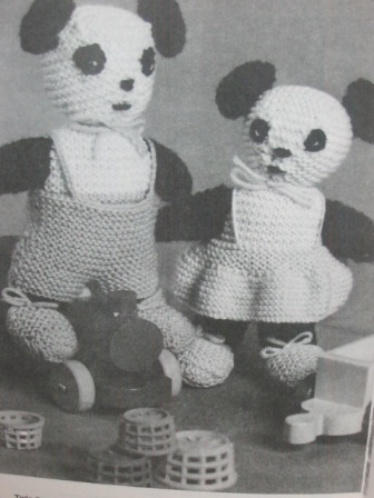 knit teddy