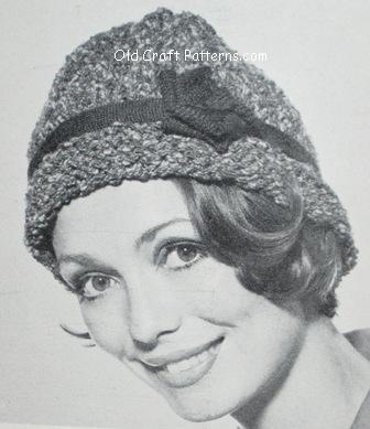 knit cloche