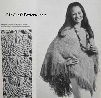 CROCHET KNITTING PATTERN PONCHO - Crochet Club