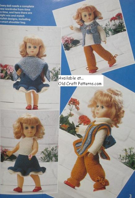knitted doll clothes patterns