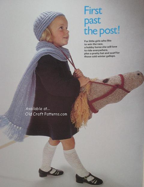 knit hobby horse