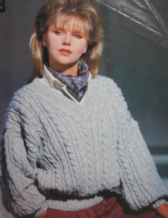geo sweater