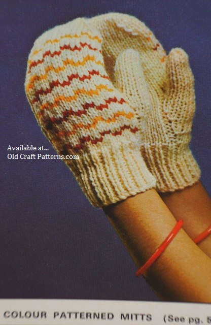color mitts patterns
