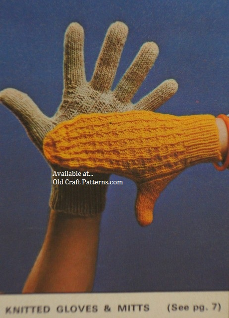 gloves mitts patterns