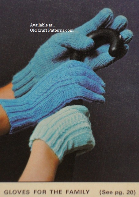 gloves patterns